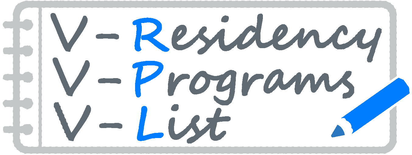 residency programs list logo